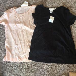 2 H&M shirts. NWT